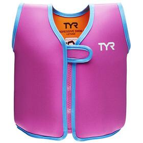 TYR Progressive Swim Aid Kinder pink